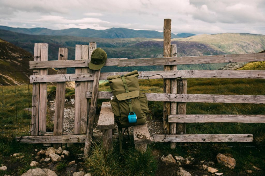 Millican ethical rucksacks for camping