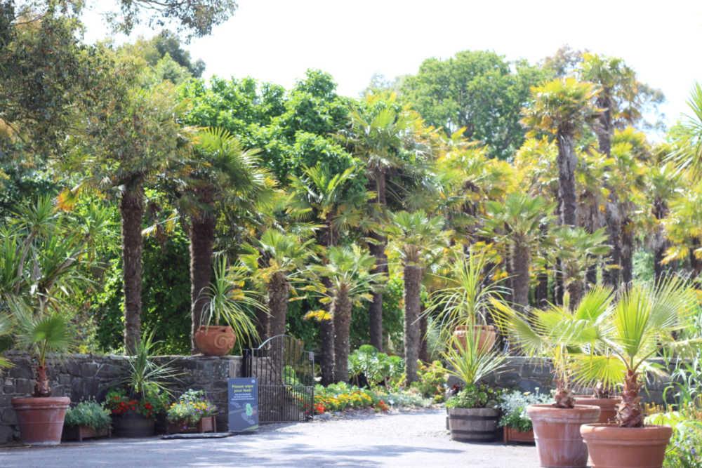 Port Logan Botanic Garden entrance