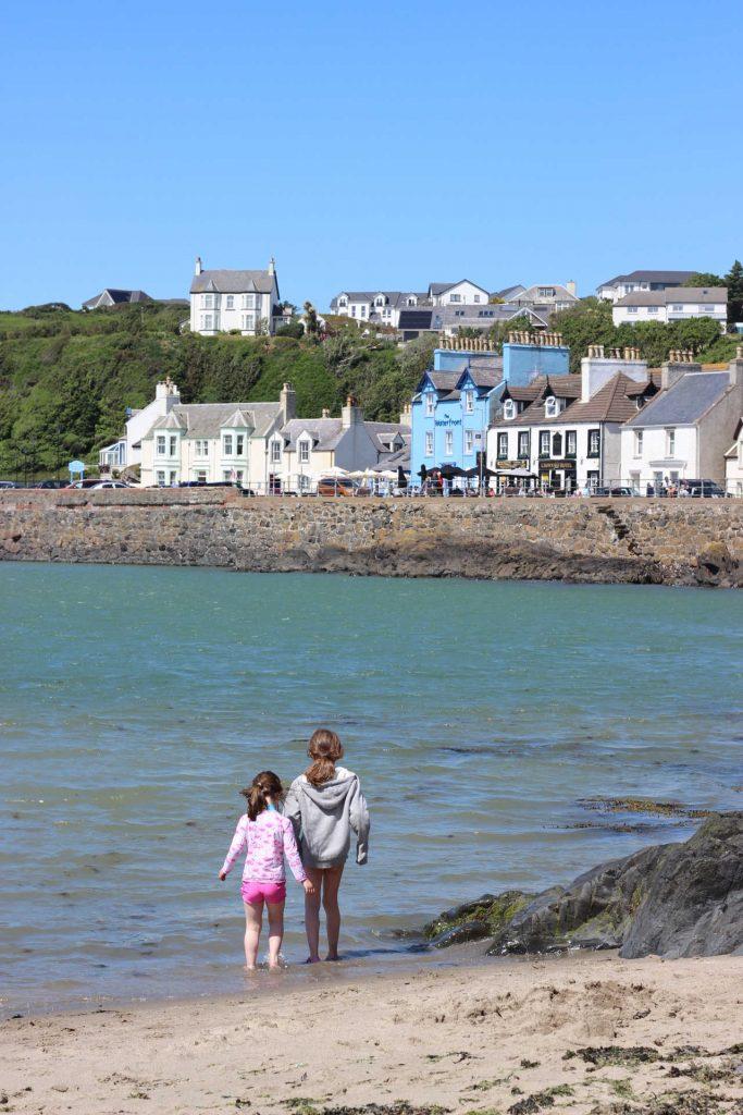 Portpatrick beach, Dumfries & Galloway