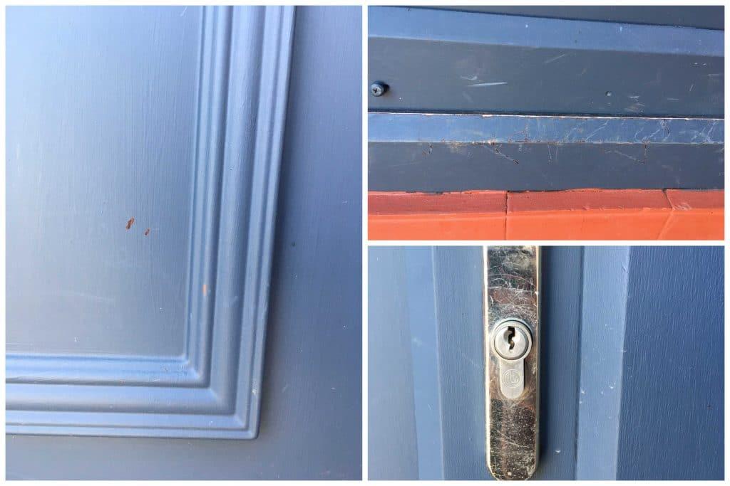 Is UPVC door paint durable