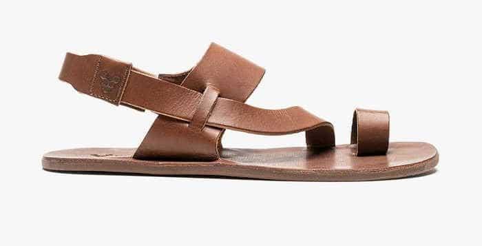 Vivobarefoot tan leather sandals