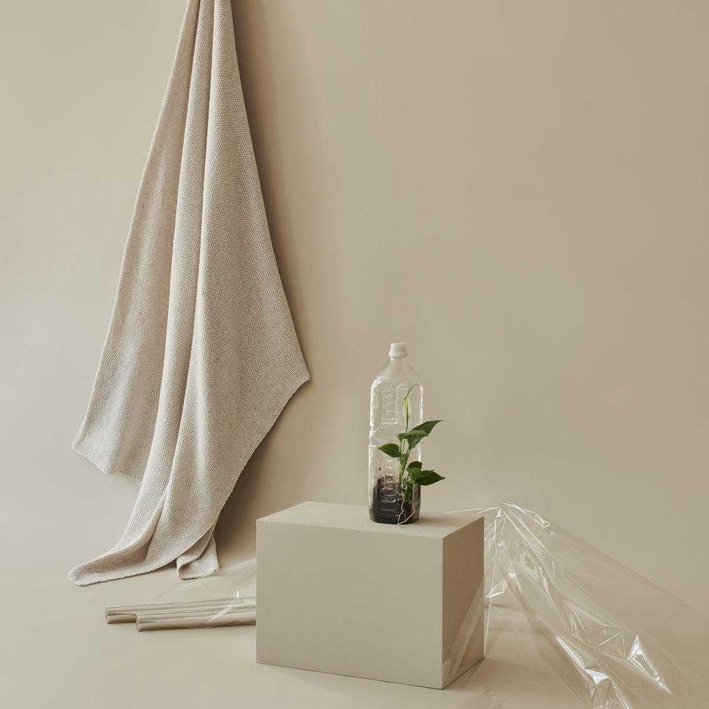 Recycled eco-friendly blanket from Urbanara