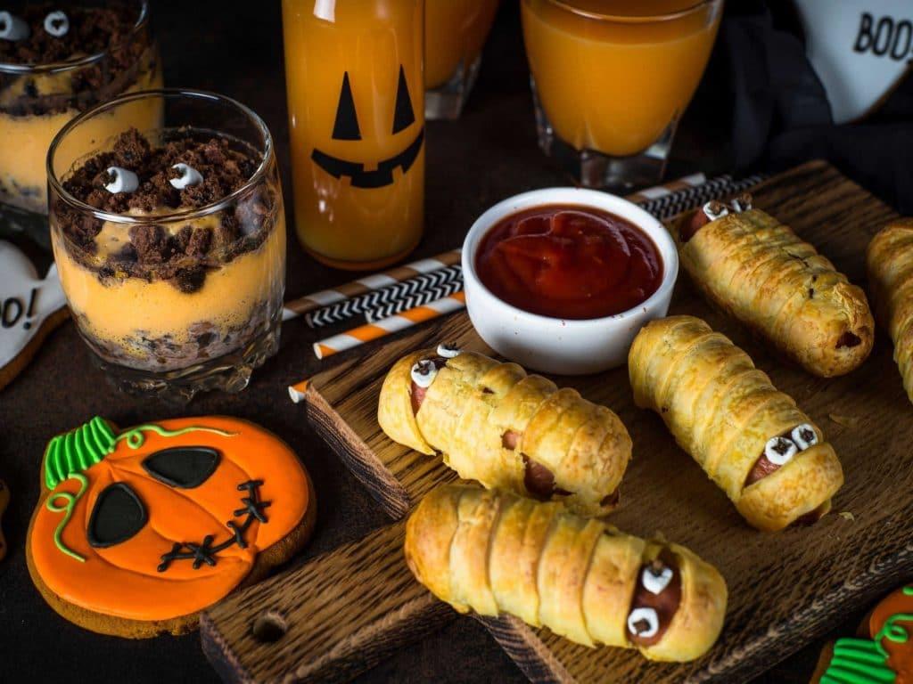 sustaianble halloween food
